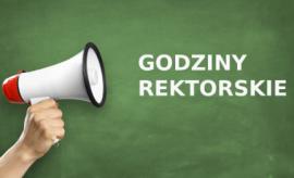 Godziny rektorskie na Wydziale Ekonomicznym (22.03.)