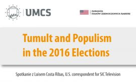 Kampania prezydencka w USA – spotkanie z Luisem Costa Ribas