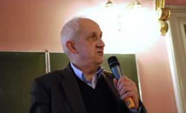 Profesor Andrzej Friszke  - relacja telewizyjna ze spotkania