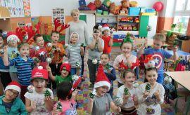 Warsztaty świąteczne w Szkole Podstawowej im. Kardynała...