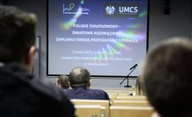 """Spotkanie: """"Polskie światłowody-światowe..."""