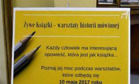 """""""Żywe książki – warsztaty historii mówionej""""..."""