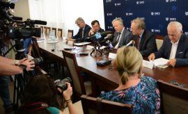 """Konferencja prasowa """"Stosunki polsko-ukraińskie"""""""