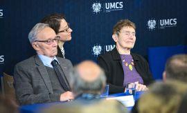 Spotkanie społeczności akademickiej z wnukami Patronki UMCS