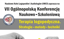 VII Ogólnopolska Konferencja Naukowo-Szkoleniowa pt....