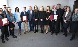 Spotkanie z laureatami stypendium Ministra Nauki i...