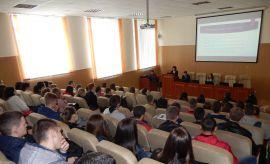 Зустрічі зі студентами та учнями Хмельницького