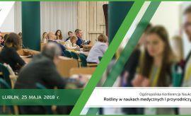 Ogólnopolska Konferencja Naukowa Rośliny w naukach...