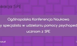 Ogólnopolska Konferencja Naukowa Kompetentny specjalista...