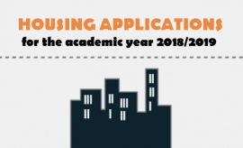 Last chance to file housing applications for new students