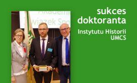 Sukces naszego doktoranta mgr. Pawła Markiewicza