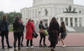 Studenckie praktyki IFS UMCS na Białorusi