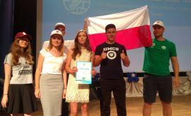Nasza delegacja na festiwalu języka rosyjskiego w Bułgarii