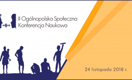 II Ogólnopolska Społeczna Konferencja Naukowa – Analiza...