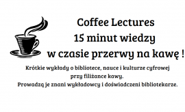 Coffee Lectures - 23 styczeń