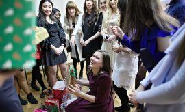 Spotkanie świąteczne dla studentów kierunków anglojęzycznych