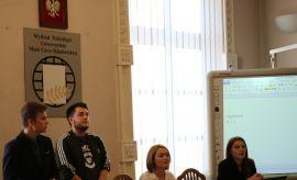 Warsztaty debat oksfordzkich dla uczniów z XXI Liceum...