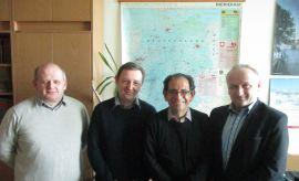 Wizyta prof. Carlosa Recio w IH UMCS