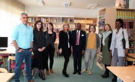 Visita de Sua Excelência o Embaixador de Angola Dr....