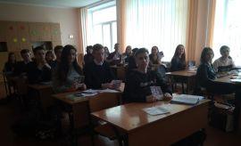Зустрічі з учнями в Луцьку та Рівному