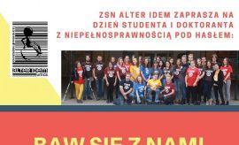 Dzień Studenta i Doktoranta z Niepełnosprawnością (24.05.)