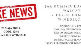 """""""Fake newsy, czyli jak walczyć z dezinformacją"""" -..."""