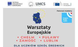 Warsztaty europejskie - relacja z IV ZSO nr 1 w  Puławach