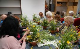 Dzień Polskiej Niezapominajki - warsztaty florystyczne
