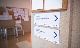 Wayfinding system at UMCS