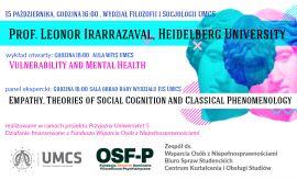 Prof. Leonor Irarrazaval - panel ekspercki i wykład