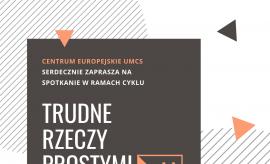 Spotkanie z przedstawicielem Europe-Direct Lublin