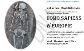 Homo sapiens w Europie - wykład