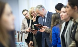 Spotkanie z przedstawicielkami Ambasady Azerbejdżanu w...