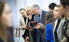 Representatives of Azerbaijani Embassy at UMCS