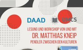 Spotkanie z dr Matthiasem Kneipem (5.XII.2019)