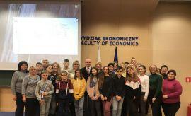 Львівські школярі в Університеті Марії Кюрі-Склодовської...