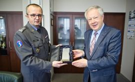 Spotkanie z płk. Jerzym Flisem