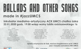 Ballads and Other Songs made in #jazzUMCS