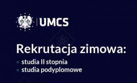 Rekrutacja zimowa na UMCS