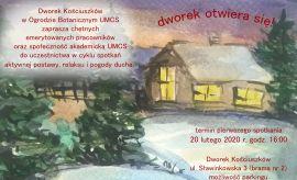Zapraszamy na warsztaty w Dworku Kościuszków
