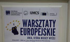 Warsztaty europejskie w Puławach - relacja