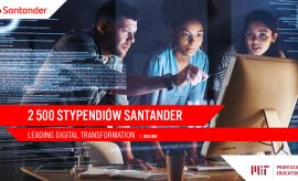 Stypendia Santandera i MIT Professional Education