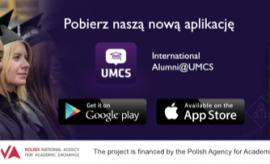 Najnowsza aplikacja mobilna - International Alumni@UMCS