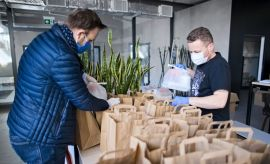 Holiday meals for residents of UMCS dormitories