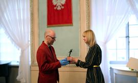 Łukasz Kucharski z TV UMCS laureatem nagrody AKLAUD MŁODYCH!