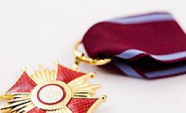 Prof. Radosław Dobrowolski decorated with the Gold Cross...