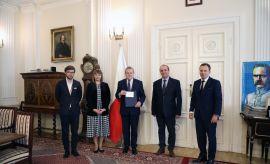 Władze UMCS z wizytą u Ministra Kultury i Dziedzictwa...