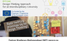 Warsztaty online z Design Thinking (dla studentów spoza...