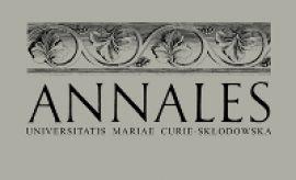 "Nowy numer ""Annales UMCS"", sec. F"