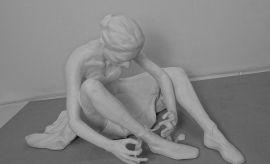 """Małgorzata Leposińska """"Baletnica"""", rzeźba,..."""